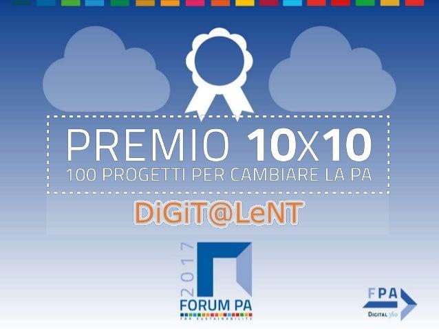 Unveil Consulting Scuola e educazione digitale Premio FORUM PA 2017: 10x10 = cento progetti per cambiare la PA