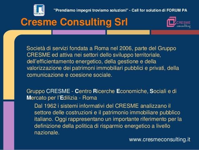 """""""Prendiamo impegni troviamo soluzioni"""" - Call for solution di FORUM PA Società di servizi fondata a Roma nel 2006, parte d..."""