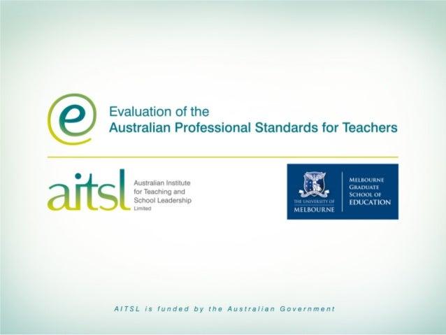 Associate Professor Janet Clinton  Professor Stephen Dinham  The Centre for Program Evaluation  Melbourne Graduate School ...