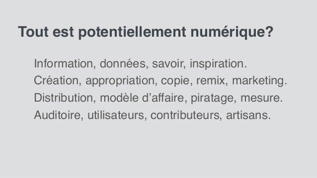 Forum rideau 2018: esprit numérique par Sylvain Carle.