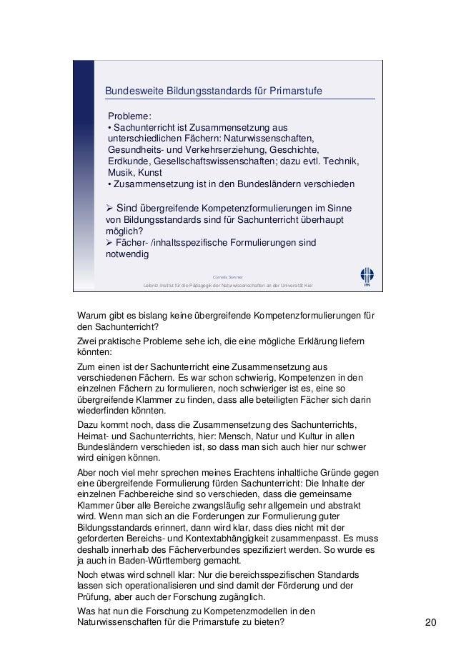 Leibniz-Institut für die Pädagogik der Naturwissenschaften an der Universität Kiel Cornelia Sommer Bundesweite Bildungssta...