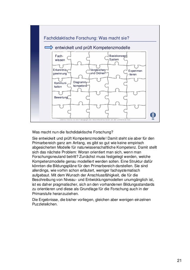 Leibniz-Institut für die Pädagogik der Naturwissenschaften an der Universität Kiel Cornelia Sommer Fachdidaktische Forschu...