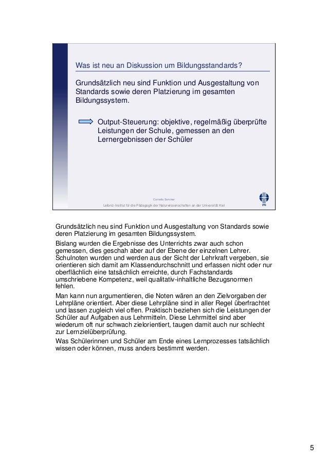 Leibniz-Institut für die Pädagogik der Naturwissenschaften an der Universität Kiel Cornelia Sommer Was ist neu an Diskussi...