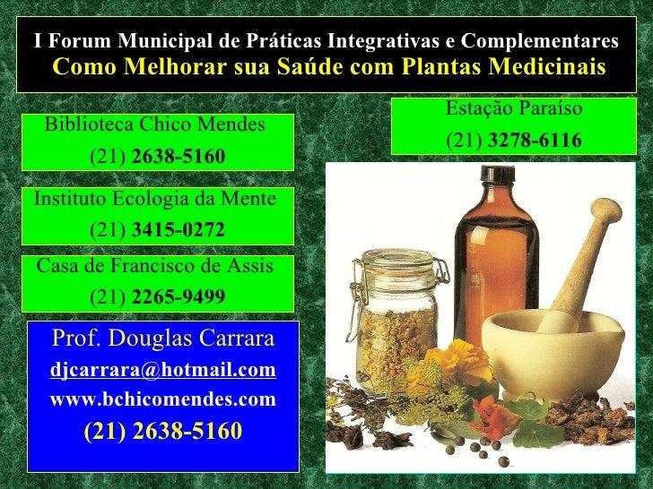 Como Melhorar sua Saúde com Plantas Medicinais II