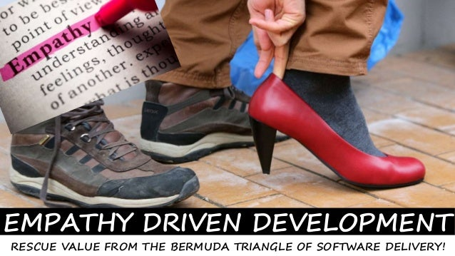 1© SmoothApps 2015 All rights reserved. www.smoothapps.com EMPATHY DRIVEN DEVELOPMENT RESCUE VALUE FROM THE BERMUDA TRIANG...