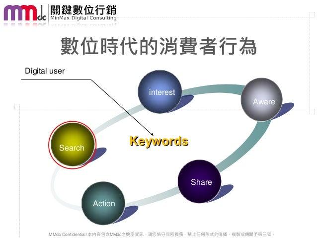 數位時代的消費者行為Digital user                                  interest                                                          ...