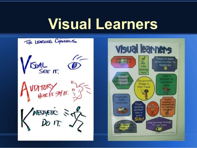 a visual learners profile Many students are unaware of their learning sensory preferences and use study strategies that are not best suited for them  visual learners.