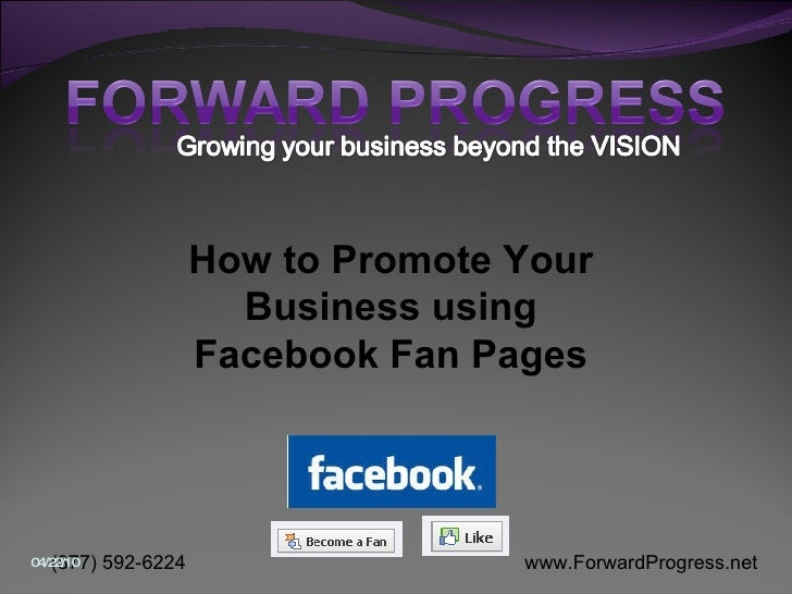 How to Promote Your Business using Facebook Fan Pages