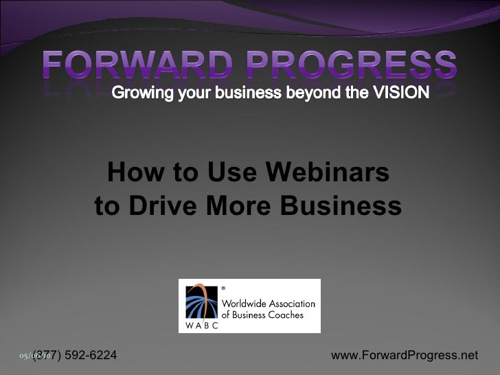 How to Use Webinars to Drive More Business