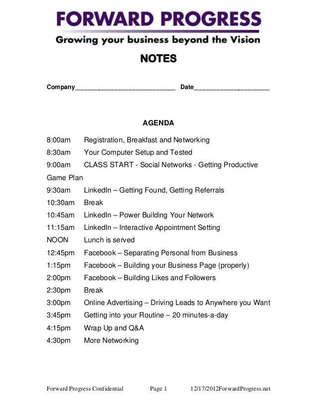 Printable Worksheets tlc worksheets : Forward Progress Social Media Boot Camp Worksheets and Handouts