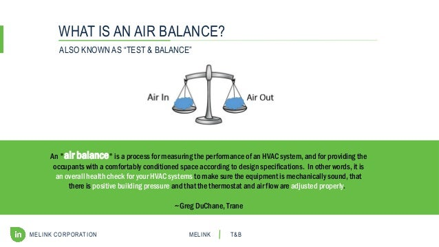 HVAC Air Balance 101