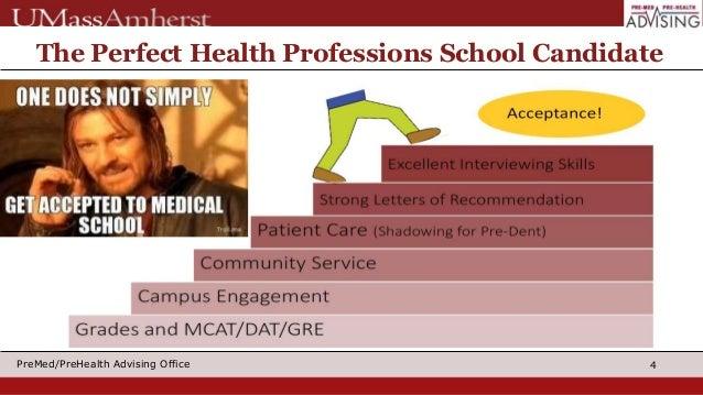 Applying to Medical, Dental & PA School