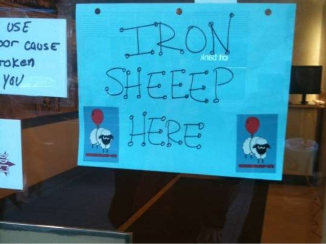 """What is Iron Sheep?• The event seeks to mimic the format ofthe """"Iron Chef"""" television series bychallenging teams to produc..."""