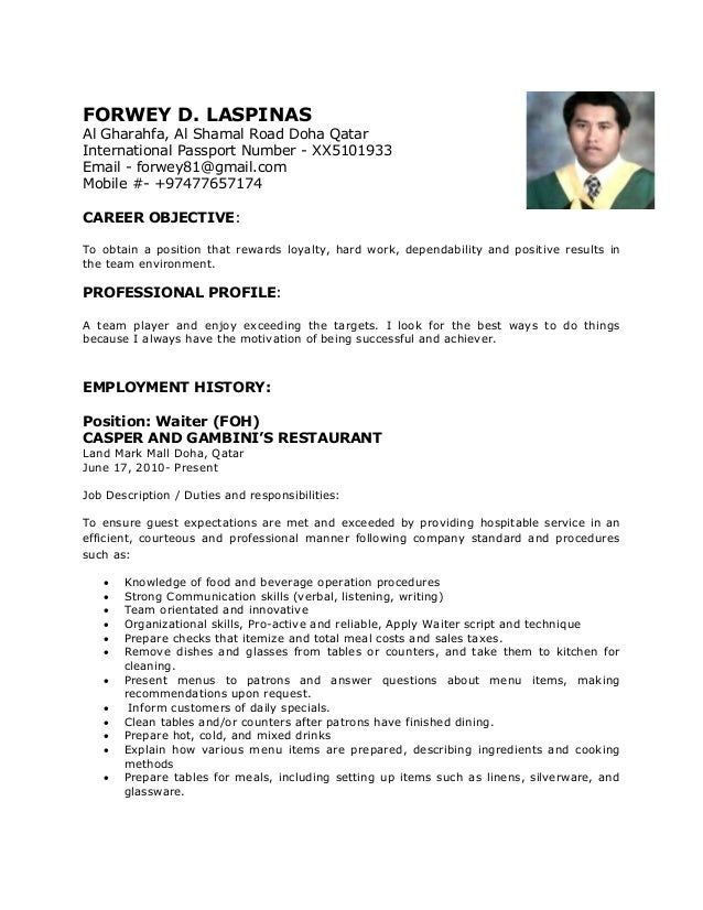 forwey-cv-new-1-copy-1-638 Sample Copy Of Resume Format on curriculum vitae, job application,