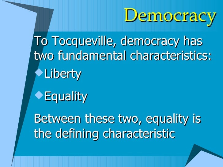 a look at american states and federal government in democracy in america by alexis de tocqueville How tocqueville anticipated our culture of dependency alexis de tocqueville described this away from the federal government, diffuse it among states.