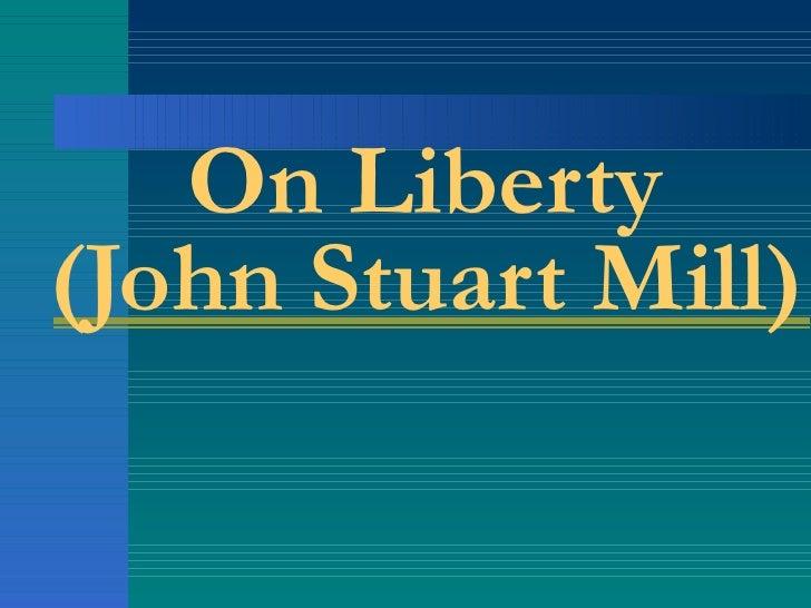 On Liberty (John Stuart Mill)