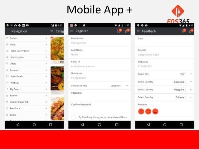 Food Ordering Application for Your Restaurant