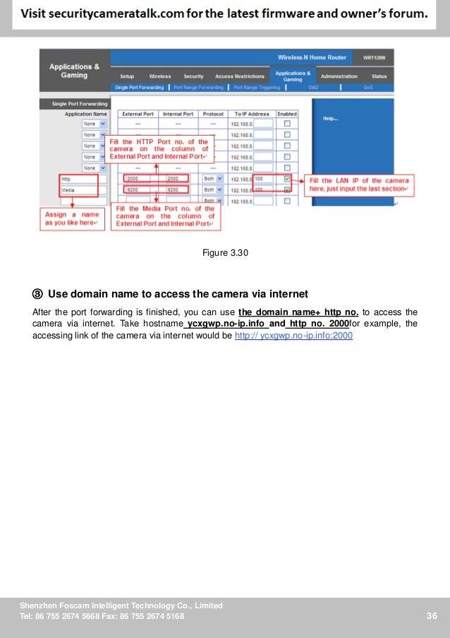 Foscam 9821 v2 manual