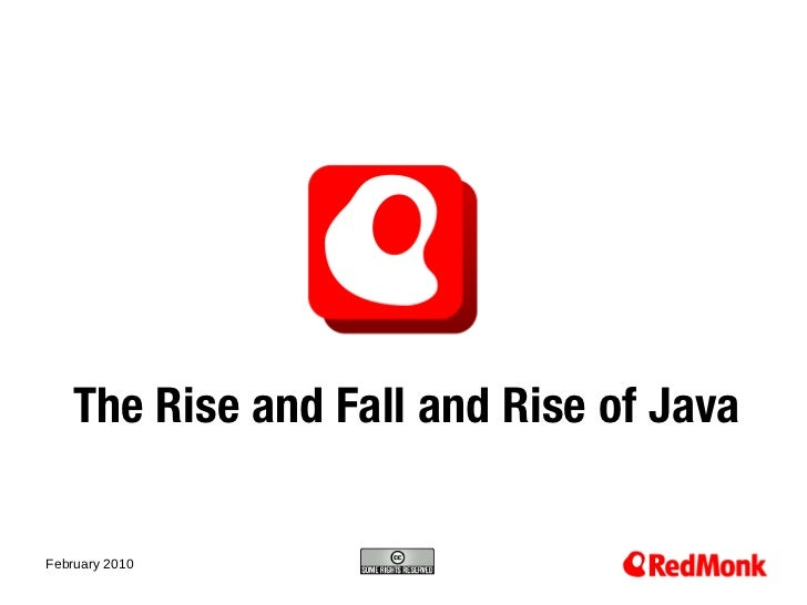 The Rise and Fall and Rise of Java10.20.2005February 2010