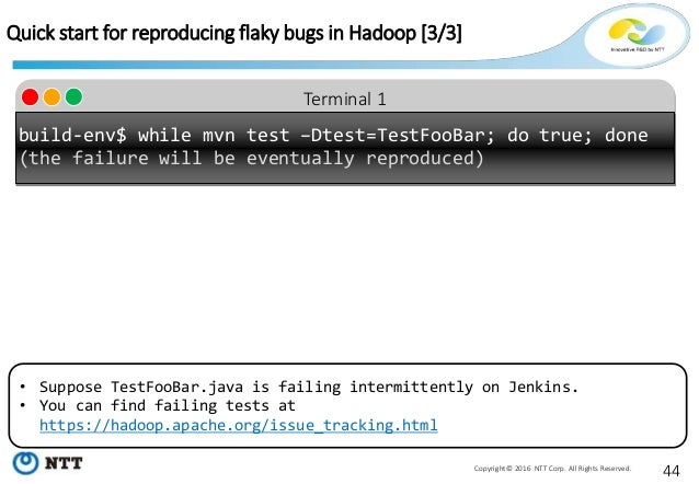 Tackling non-determinism in Hadoop - Testing and debugging distributed systems with Earthquake - Slide 44