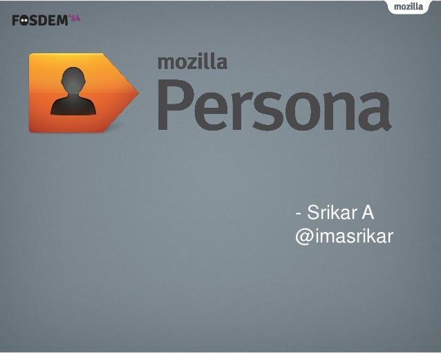 - Srikar A @imasrikar