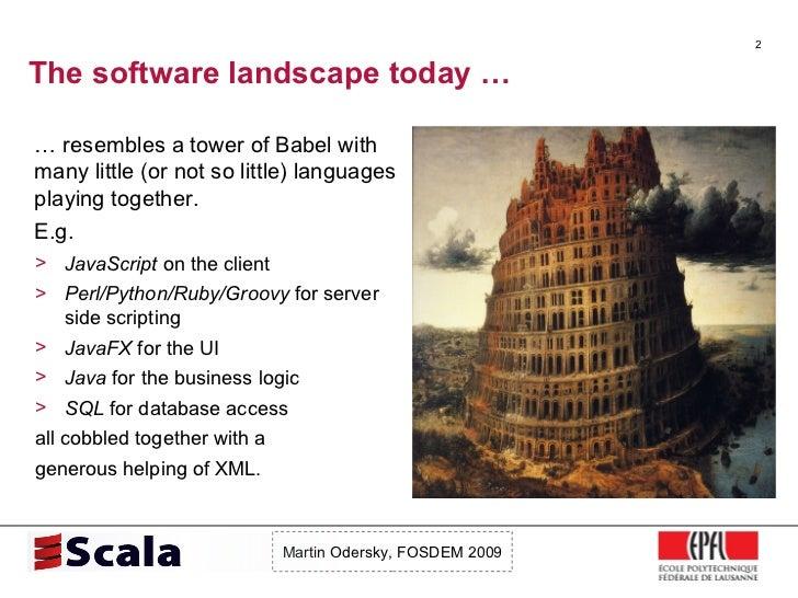 Scala Talk at FOSDEM 2009 Slide 2