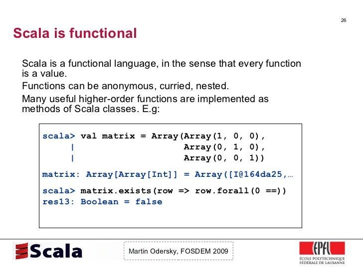 Scala Talk at FOSDEM 2009 Slide 26