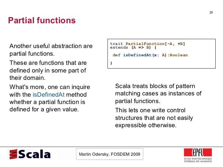 Scala Talk at FOSDEM 2009 Slide 29