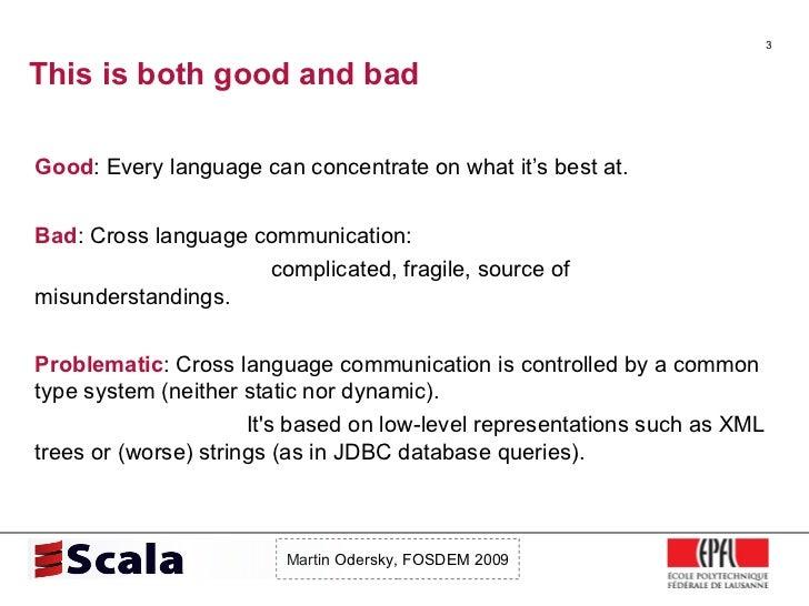 Scala Talk at FOSDEM 2009 Slide 3