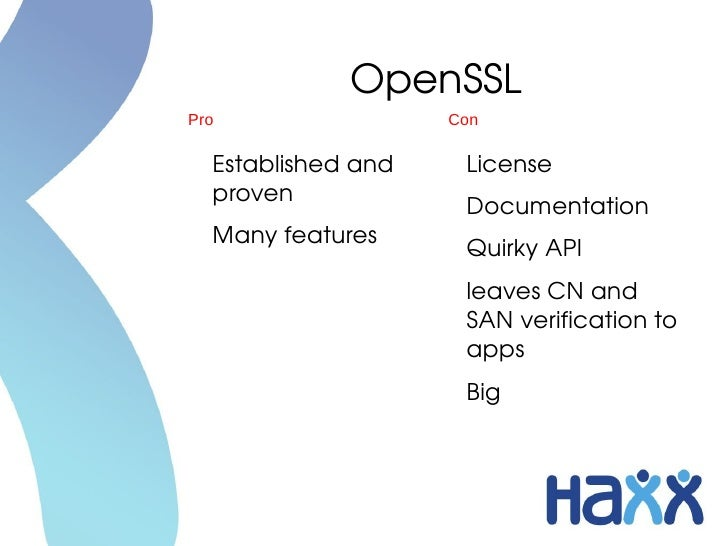 Libcurl Seven SSL Libraries And One SSH Library