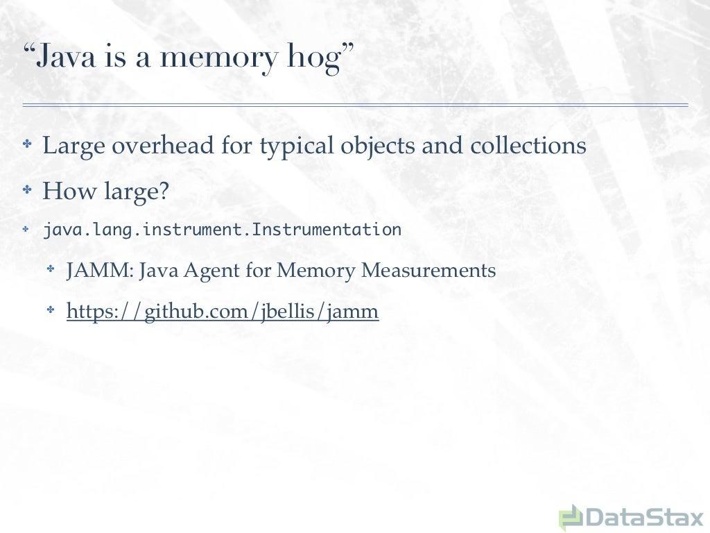 """Java is a memory hog""""✤"""