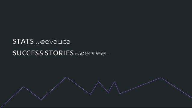 stats by @evalica success stories by @eppfel