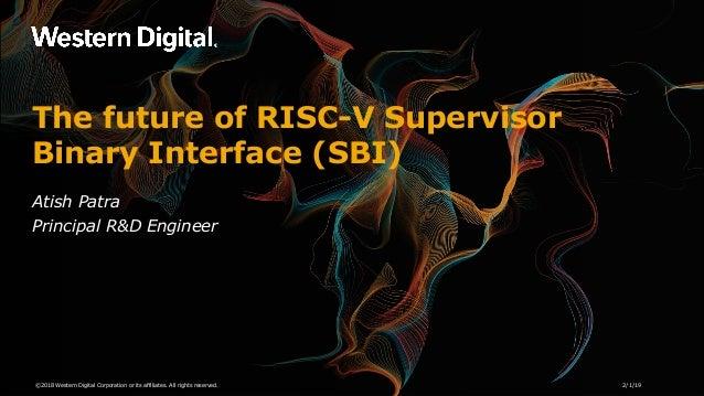 The future of RISC-V Supervisor Binary Interface(SBI)