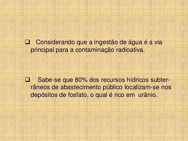 Departamento de Energia Nuclear daUniversidade    Federal    de    Pernambuco(DEN/UFPE) desenvolve estudo dos teores derad...