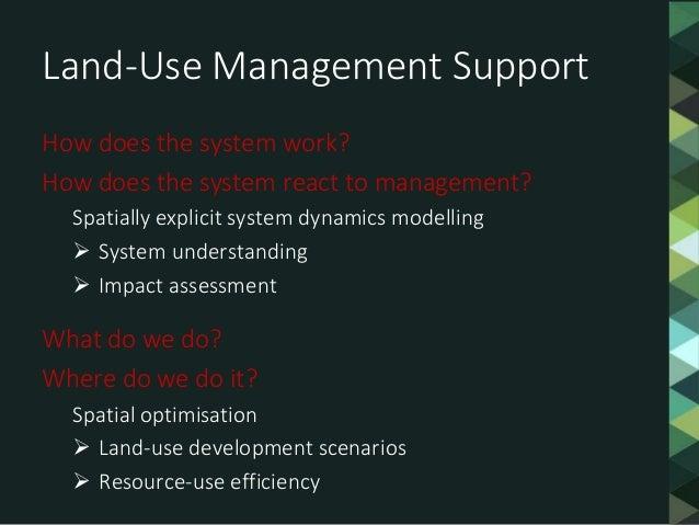 LUMASS - a Spatial System Dynamics Modelling Framework Slide 2