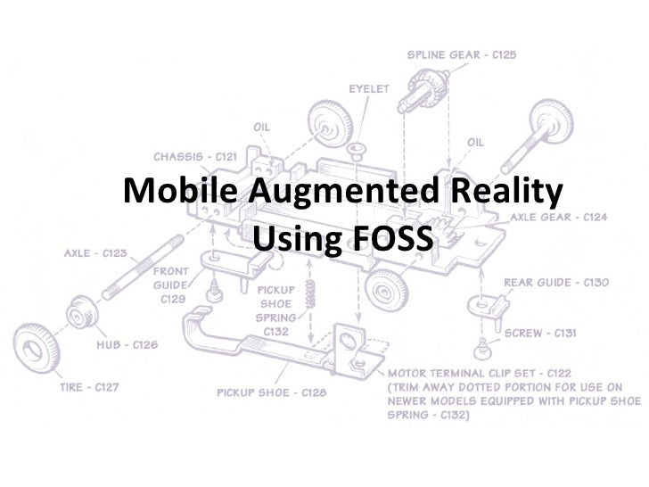 Mobile Augmented Reality Using FOSS