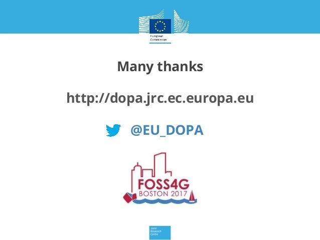 Many thanks http://dopa.jrc.ec.europa.eu @EU_DOPA