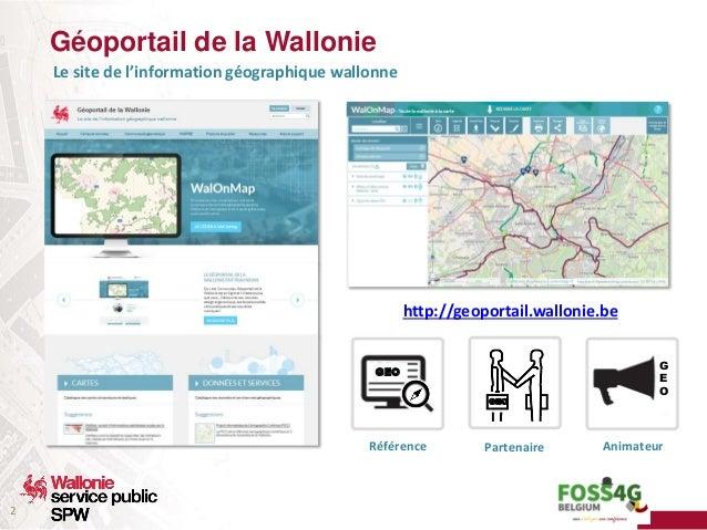 Dans les coulisses du Géoportail de la Wallonie - Comment est gérée la qualité du catalogue ? Slide 2