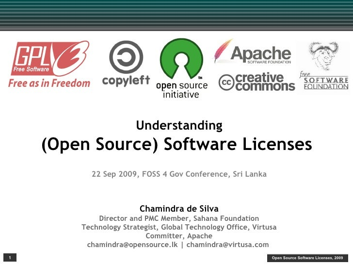 FOSS4Gov: Understanding Open Source Licenses