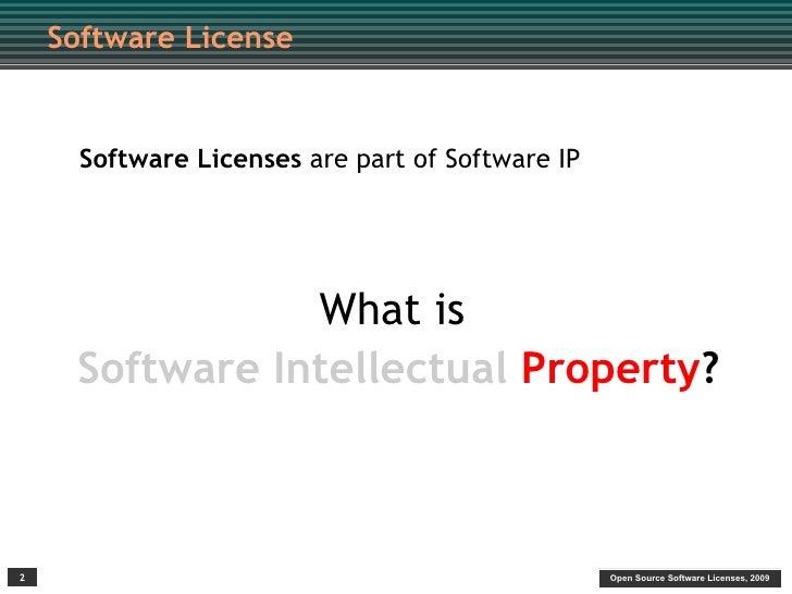 FOSS4Gov: Understanding Open Source Licenses Slide 2