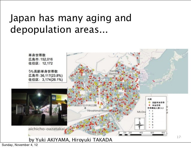 Japan has many aging and     depopulation areas...                                                   17                by ...