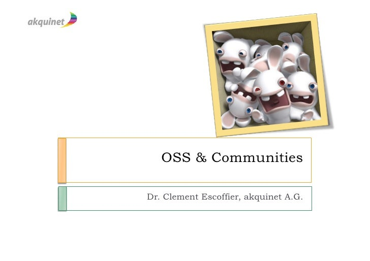 OSS Community management