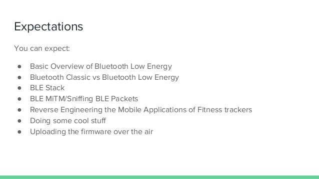 FOSS ASIA 2019 | Hacking BLE Enabled Fitness Trackers