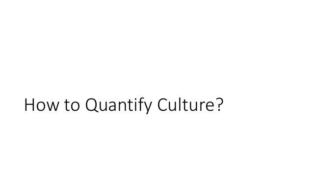 how to quantify culture  introduction to r workshop
