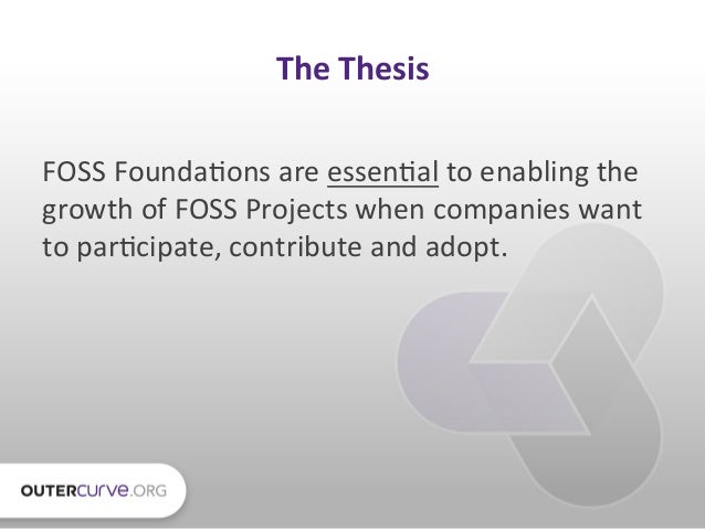 The Evolution of the Open Source Software Foundation Slide 2