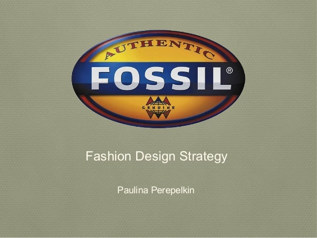 Fashion Design Strategy Paulina Perepelkin