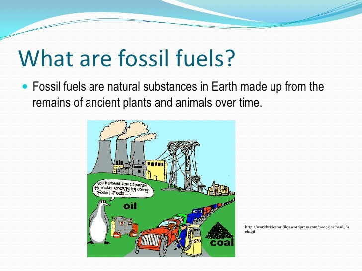 fossil fuels deutsch