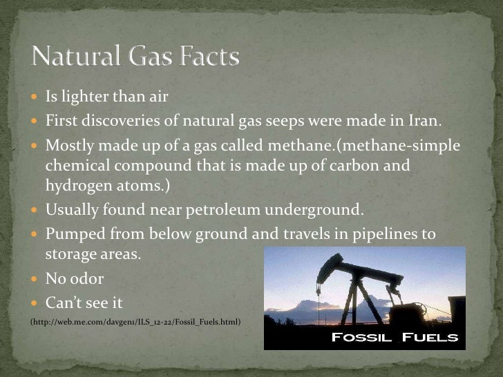 Natural Gas Mostly Found