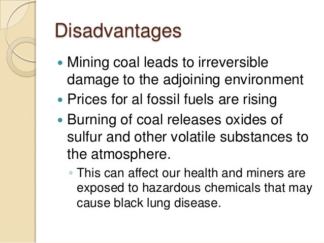 Subsurface Mining Disadvantages Earth Systems Ppt Download