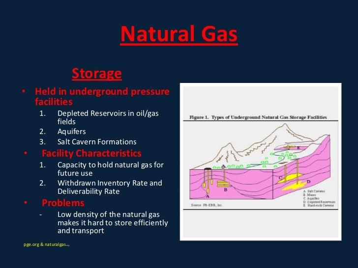 Compressed Natural Gas Characteristics